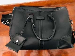 To bless *obermain leather briefcase