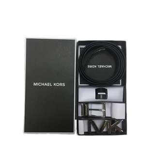 MICHAEL KORS Men's Signature 4 in 1 Belt Gift Box Set 36T7LBLY4B