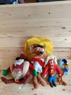 Looney tunes warner bros original vintage toy