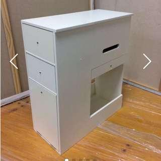 🚚 Box G - MOBILE MOVABLE MAKE UP MIRROR STORAGE CABINET