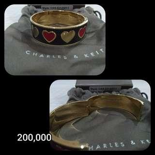 PROMO DESEMBER Charles and Keith Bracelet (Black)