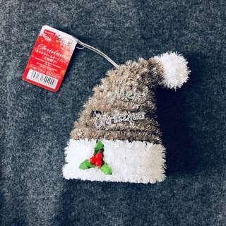 Daiso garland ornament 3D hat