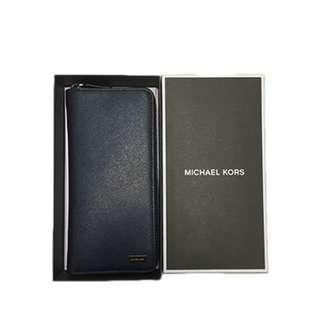 MICHAEL KORS Mens Billfold Phone Wallet in Leather 36T6SANE3L
