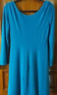 Turquoise Short dress