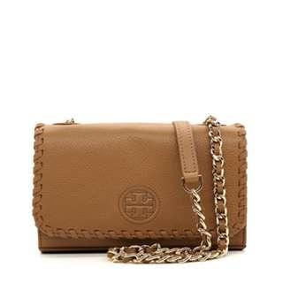 TORY BURCH Marion Shrunken Shoulder Bag 40873-0817