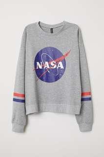 H&M NASA SWEATSHIRT