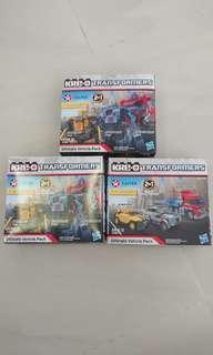 Kre-o Transformers 變形金剛 限量版