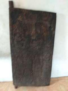 Pintu Timor ,part of door timor, kayu, tua