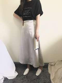 🚚 Sutol 質感光澤緞面裙 studiodoe 同款