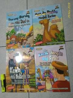 Buku Anak Bilingual Animal Tales from Al Qur'an Character Education for Young Learners
