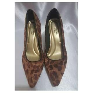 Unused Animal Print High-Heeled Pumps from Payless (See Description for Measurements)