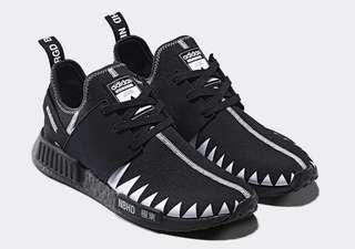 Adidas NMD R1 PK Neighborhood Core Black US10.5/UK10