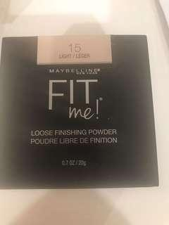 Maybelline Fit me loose powder- Light