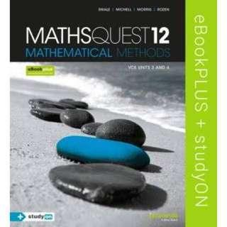 VCE Maths Methods PDF Units 3 & 4 and Solutions