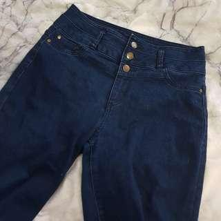 jayjays high rise ankle biter denim jeans