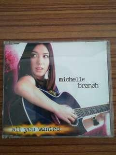 Michelle Branch All You Wanted Imported Single CD