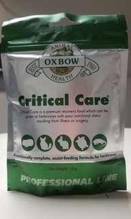 現貨 Oxbow Critical Care (原味) 草粉 141g 寵物補充品