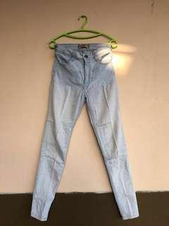 High waist jeans | lightblue HW jeans