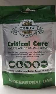 現貨 Oxbow Critical Care (蘋果香蕉) 草粉 141g 寵物補充品