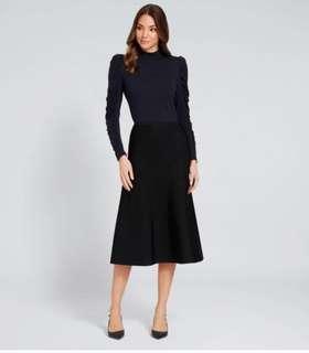Seed Milano Knit Midi Skirt Size 6