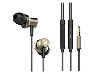 高質重低音靚聲音樂有咪有缐耳機達人 Hi 5 Res wired in earphone High Quality Beautiful Bass Sound Headphones with Microphone For Galaxy iPhone