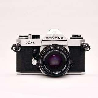 Pentax KM with Pentax-M f2: Basic and Simple, Great for beginning film photography
