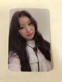 izone chaeyeon broadcast photocard