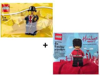 [NEW] Lego 40308 Mr Lester + 5005233 Hamley's Royal Guard