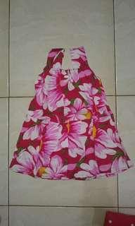 Dress bayi balita Batik halus
