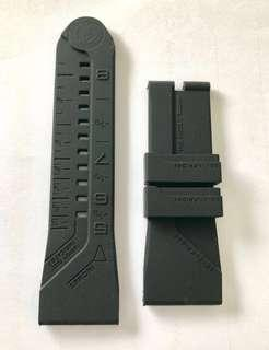 NEW Sevenfriday strap rubber black 28mm