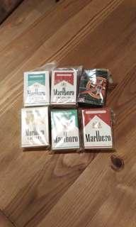 Marlboro 萬賽路煙盒型打火機六款