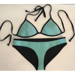 Triangl Bikini Swimwear Size S/M Mint