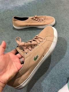 Lacoste brown shoes