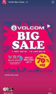 Volcom BIG SALE 2018-2019