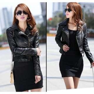 🚚 Ladies' Leather Jacket