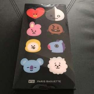 🚚 ✨現貨在台✨韓國帶回🇰🇷BT21 X Paris baguette 限定 製冰盒 製冰器 巧克力 防彈少年團 BTS