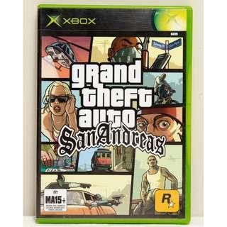 Grand Theft Auto: San Andreas (Microsoft Xbox, 2005)