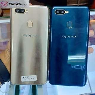Promo Bunga 0% Oppo A7 Smartphone 4/64GB Cicilan Tanpa Cc
