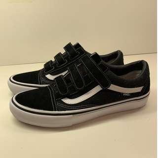 Vans Skateboard Shoe Pro Velcro Lace New US10