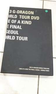 Ori G-Dragon 2013 world tour DVD