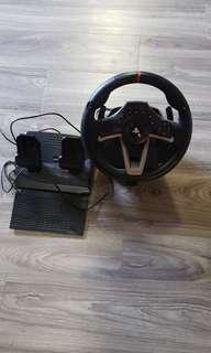 Ps4 steering wheel and padel