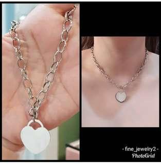 Tiffany Heart design Center Necklace