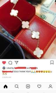 Sold Items from my Jeweller