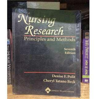 NURSING RESEARCH PRINCIPLES AND METHOD 7th Edition