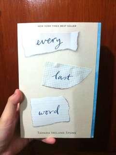(4/4) Every Last Word by Tamara Ireland Stone