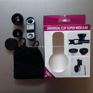 Super wide fisheye lens preloved