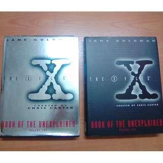 The X-Files Book of The Unexplained Volume 01 and 02