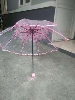Payung lipat cantik