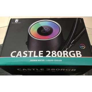 🚚 Deepcool Castle 280RGB 280mm CPU Water liquid cooler / CPU散熱器