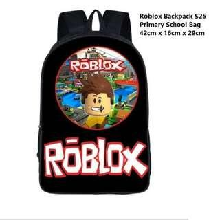 Preorder: Roblox Backpack/ Roblox Primary School Bag